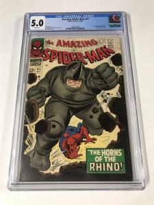 Amazing Spider-Man #41 CGC 5.0