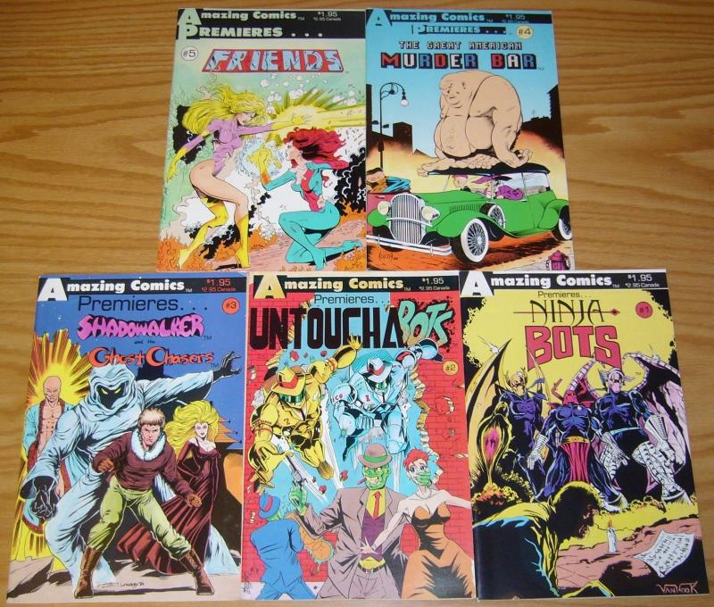 Amazing Comics Premieres #1-5 VF/NM complete series SAM KIETH ron lim 2 3 4 set