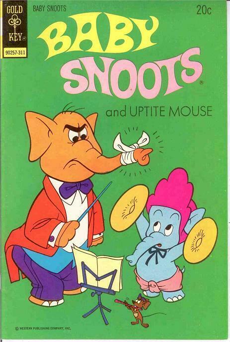 BABY SNOOTS (1970-1975 GK) 14 VF  November 1973 COMICS BOOK