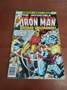 ?INVINCIBLE IRON MAN  95?  White Pages. Needs a press!