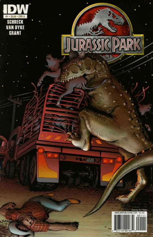 Jurassic Park (IDW) #1A VF/NM; IDW | save on shipping - details inside