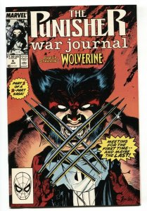 Punisher War Journal #6 Wolverine issue MARVEL NM-