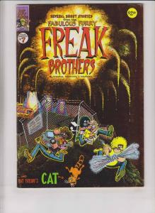 Freak Brothers #7 FN (1st) print - rip off press - gilbert shelton underground