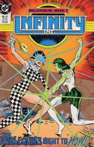 Infinity, Inc. #47 VF/NM; DC | save on shipping - details inside