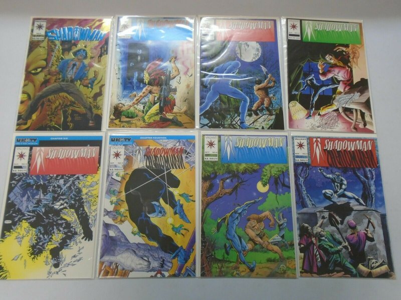 Shadowman comic lot from #0-31 29 different issues 8.0 VF (1992-94)