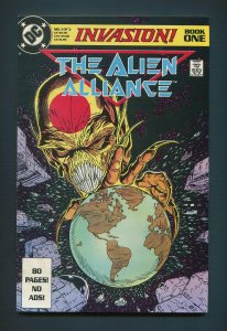 Invasion The Alien Alliance #1  / 7.5 VFN-  / October 1988