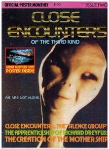 CLOSE ENCOUNTERS OFFICIAL POSTER MONTHLY 2 VF ( 1.50 CV
