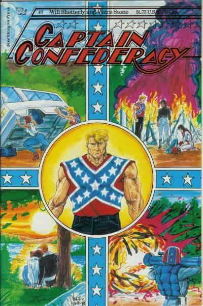 Captain Confederacy (Steeldragon) #7 VF/NM; Steeldragon | save on shipping - det