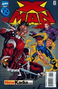 X-Man #6, NM- (Stock photo)