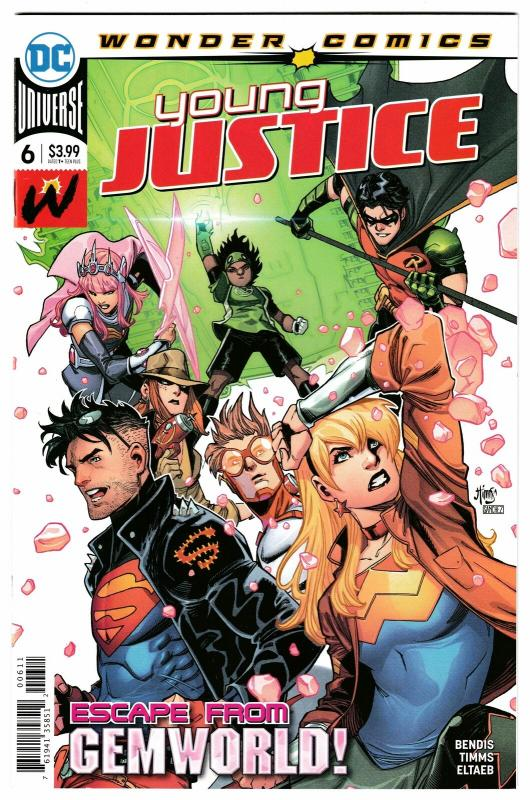 Young Justice #6 Main Cvr (DC, 2019) NM