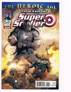 Steve Rogers Super Soldier # 4 Marvel Comic Books Great Issue Modern Age!!!! S25