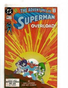Adventures of Superman #469 (1990) YY3