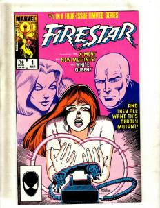 10 Comics Firestar #1 2 3 4, Gambit #1 2, Gambit and the Xternals #1 2 3 4 JF25