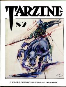 Tarzine #82 1992-Fanzine for collectors of Tarzan and ERB memorabilia-VF