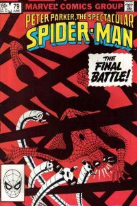 Spectacular Spider-Man (1976 series) #79, Fine- (Stock photo)