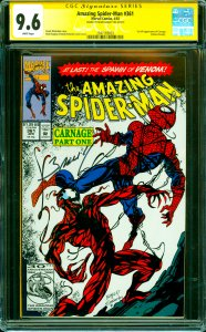 Amazing Spider-Man #361 CGC Graded 9.6 1st full appearance of Carnage (Cletus...