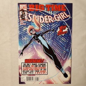 Spider-Girl 1 Very Fine/Near Mint Cover by Barry Kitson