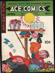 Ace Comics #73 (David McKay Publications, 1943) FN