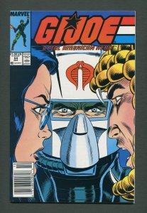 G.I. Joe #64 /  9.0 VFN/NM  /  Newsstand  October 1987