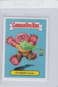 Garbage Pail Kids Ethan Foam 1b GPK 2017 Adam Geddon trading card sticker