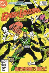 Green Lantern Corps, The #207 VF/NM; DC | save on shipping - details inside