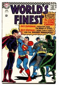 WORLDS FINEST #159 comic book 1966-DC COMICS-BATMAN-SUPERMAN