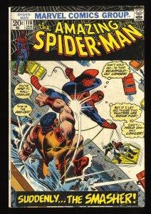 Amazing Spider-Man #116 FN- 5.5 Marvel Comics Spiderman