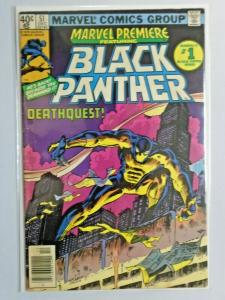 Marvel Premiere #51 Black Panther water stain 4.0 VG (1979)