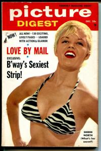 Pictures Digest 12/1955-exploitation-pulp thrills-Sheree North-Abbe Lane-FN/VF