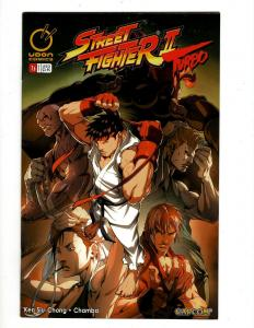 Lot of 11 Street Fighter II Comic Books #1B 2A 3A 4A 5A 6B 7B 8B 9B 10A 12A SM21