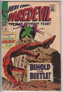Daredevil #33 (Oct-67) FN/VF Mid-High-Grade Daredevil
