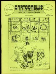 CARTOONEWS #8-1975-JACK KIRBY-MILTON CANIFF VG/FN
