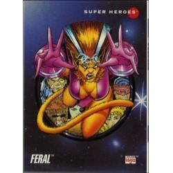 1992 Marvel Universe Series 3 FERAL #67