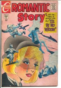 Romantic Story #107 1970-Charlton-shark cover-Ditko pencils & inks-VG+