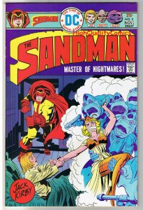 SANDMAN #5, VF, Jack Kirby, Frog Men Invasion, 1974,more JK in store,Bronze age