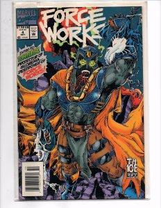 Marvel Comics (1989) Force Works #4