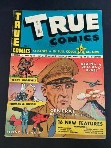True Comics 11 VG-/VG (True Comics Press Apr. 1942)