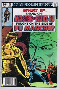 What If #16 ORIGINAL Vintage 1979 Marvel Comics Master of Kung Fu Shang Chi
