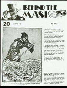 BEHIND THE MASK 1993 #20-PULP FANZINE-CRIMSON MASK FN