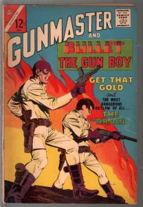 Gunmaster  Vol. 5  #84 1965-Charlton-secret identity Western hero-Gun Boy-G