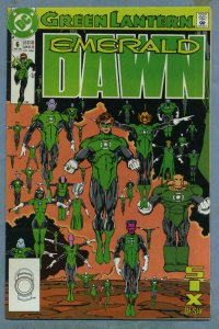 GREEN LANTERN EMERALD DAWN #6, NM, Hal Jordan, 1990, Ring, Keith Giffen, DC