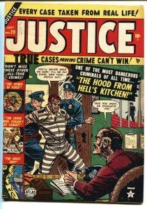 Justice #29 1952- Atlas golden age crime-Pre-code-Ghost ship