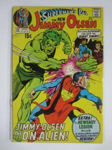 JIMMY OLSEN #136 (DC,3/1971) GOOD-VERY GOOD (G-VG) Jack Kirby! Newsboy Legion!