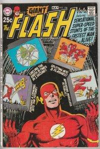 Flash, The #196 (Apr-70) FN+ Mid-High-Grade Flash