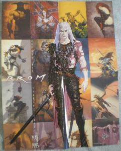 BROM Promo poster, FPG, 16.5 x 22, 1995, Unused, more in our store