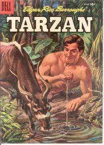 TARZAN 78 VG+   March 1956 COMICS BOOK