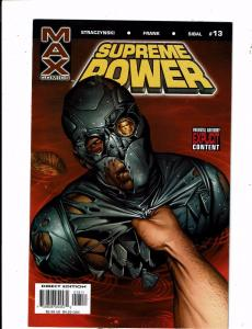 Lot of 6 Supreme Power Marvel/Max Comic Books #13 14 15 16 17 18 AK2