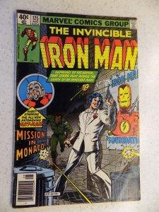 INVINCIBLE IRON MAN # 125 MARVEL BRONZE ACTION ADVENTURE VG+
