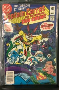Captain Carrot and His Amazing Zoo Crew #1 (1982)