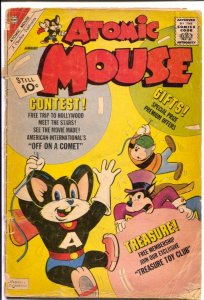 Atomic Mouse #46 1962-Charlton-Superhero funny animals-G